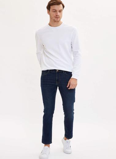 DeFacto Basic Sweatshirt Beyaz